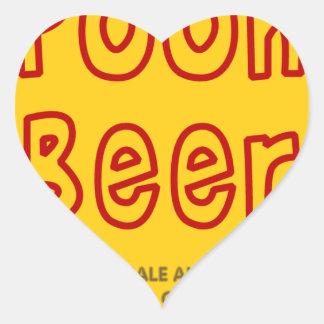 ばかなビール ハートシール