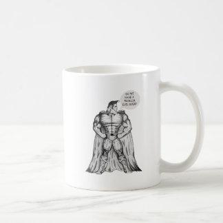 ばかばかしいスーパーヒーロー コーヒーマグカップ