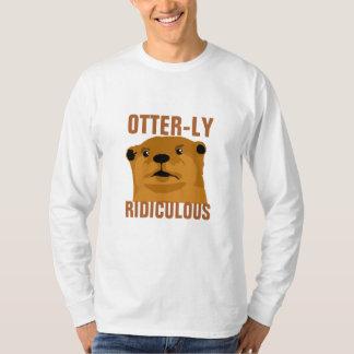 ばかばかしいOtterly Tシャツ