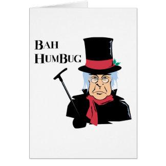 ばかばかしいScrooge グリーティングカード