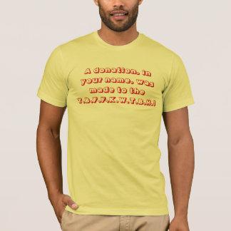 ばか者の基礎 Tシャツ