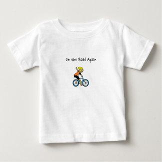 ばたつく魚は™を設計します ベビーTシャツ