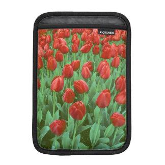 ばねのチューリップ分野の開花 iPad MINIスリーブ