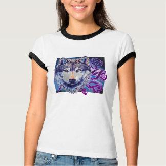 ばら色のオオカミ Tシャツ
