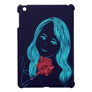 ばら色の女の子のiPadカバー iPad Miniカバー