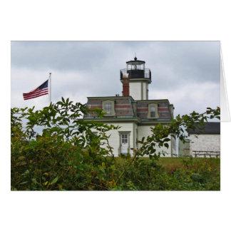 ばら色の島の灯台 カード