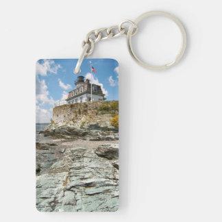 ばら色の島の灯台、ロードアイランド キーホルダー