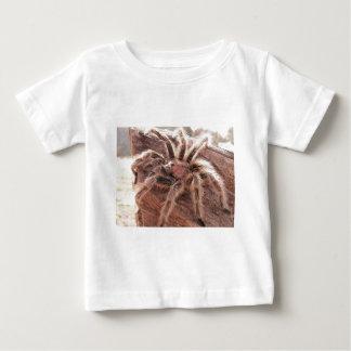 ばら色の毛のタランチュラ ベビーTシャツ