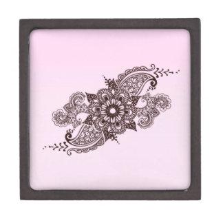 ばら色の花の曼荼羅 ギフトボックス