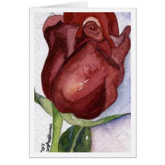 ばら色の芽Notecard カード