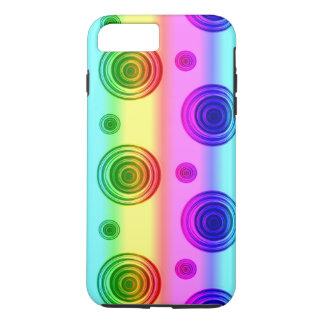 ばら色の融合 iPhone 8 PLUS/7 PLUSケース
