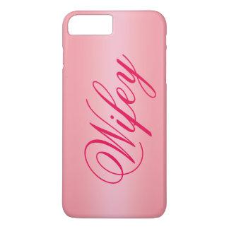 ばら色の金ゴールドの愛らしいWifeyのiPhone 7の場合 iPhone 8 Plus/7 Plusケース