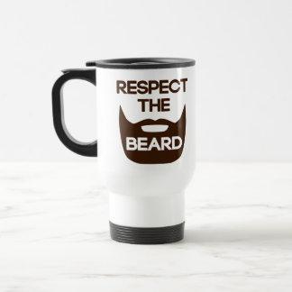 ひげを尊重して下さい トラベルマグ