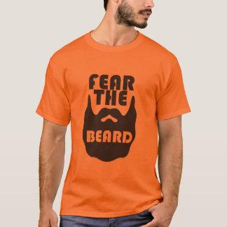 ひげを恐れて下さい Tシャツ