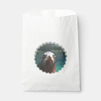 ひげを搭載するアシカ フェイバーバッグ