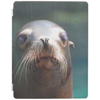 ひげを搭載するアシカ iPadスマートカバー