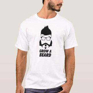 ひげを育てて下さい Tシャツ