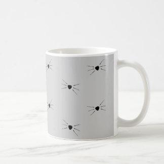 ひげパターンマグ コーヒーマグカップ