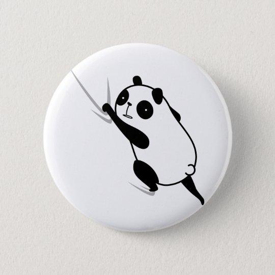 ひっつきパンダ hittuki-panda 5.7cm 丸型バッジ