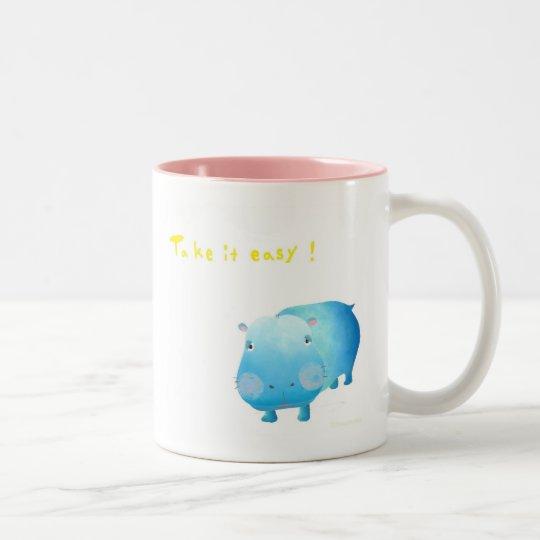 ひっぽー マグカップ ツートーンマグカップ