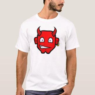 ひどい悪魔-大きい頭部 Tシャツ