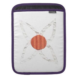 ひな菊の花輪の私パッドの袖 iPadスリーブ