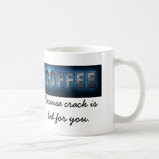 ひびがあなたのために悪いマグので、コーヒー コーヒーマグカップ