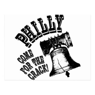 ひびのために来られるPhilly -! ポストカード