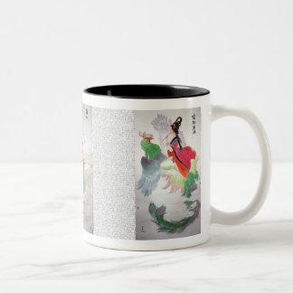 ひびの女神のマグ ツートーンマグカップ