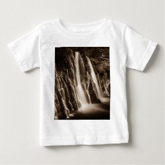 ひびのBurneyの滝を通して ベビーTシャツ