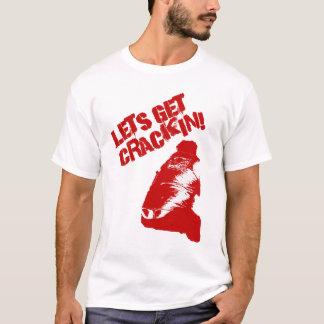 """""""ひび""""を得るために割り当てます! Tシャツ"""