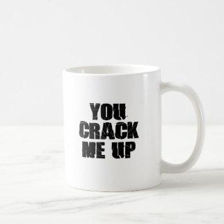 ひび コーヒーマグカップ