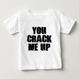 ひび ベビーTシャツ