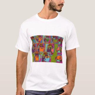 ひび Tシャツ