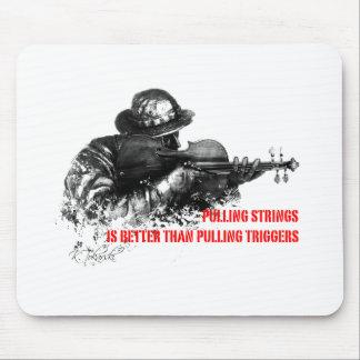 ひものバイオリンの引き マウスパッド