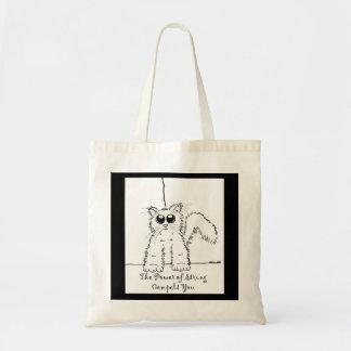 ひもの力は-子猫のトート強います トートバッグ