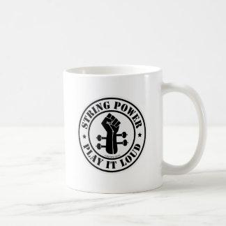 ひも力… 大声でそれを遊んで下さい!! コーヒーマグカップ