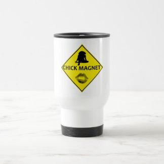 ひよこの磁石の黄色の交通標識のタンブラー トラベルマグ