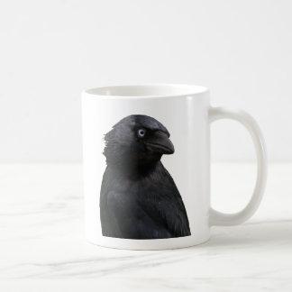 びしょぬれにされたコクマルガラス コーヒーマグカップ