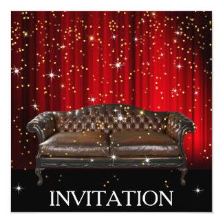 びっくりパーティの誕生日の贅沢の招待状 カード