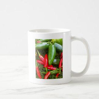 ぴりっとするコショウ コーヒーマグカップ