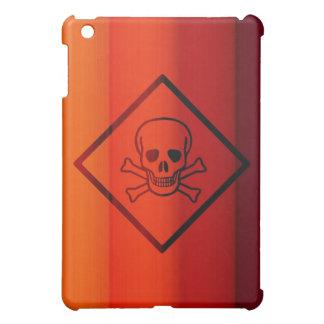 ぴりっとする熱いおよび危険の一見 iPad MINI カバー