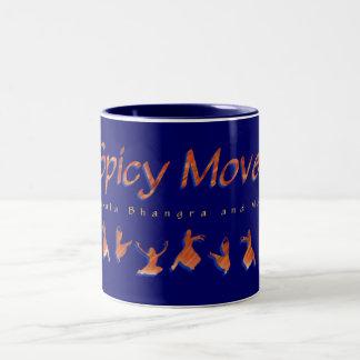 ぴりっとする移動茶かコーヒー・マグ ツートーンマグカップ