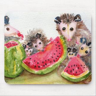 ふくろねずみのピクニックマウスパッド マウスパッド