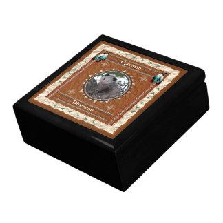 ふくろねずみ-転換のタイルが付いている木製のギフト用の箱 ギフトボックス