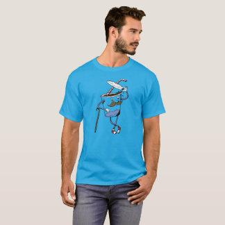ふたのティーの先端 Tシャツ