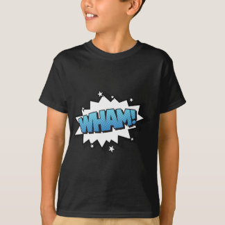 ぶつかって下さい! 漫画の破烈の表現 Tシャツ