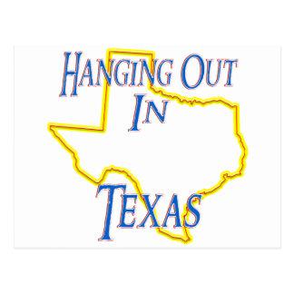 ぶら下がったなテキサス州- ポストカード