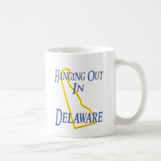 ぶら下がったなデラウェア州- コーヒーマグカップ