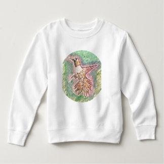 ぶんぶんいう鳥のスタイル: 暖かい幼児のフリースのスエットシャツ スウェットシャツ